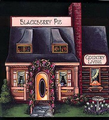 Brandywine Collectible Houses: COUNTRY LIVING Shop - BLACKBERRY PIES