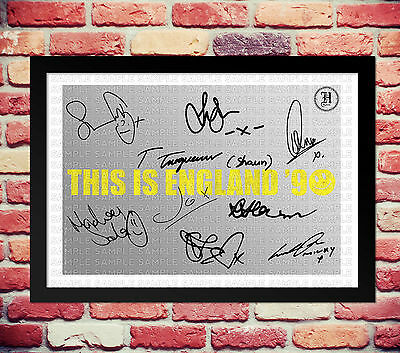 This Is England 90 Cast Signed Autograph Print Poster Photo Show Series Season