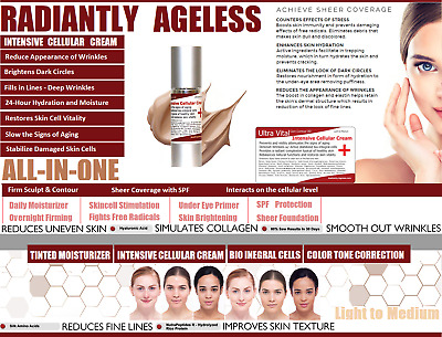 BETTER THAN Pevonia Youth Renew Cream Phyto-Elite Intensive Tinted Moisturizer