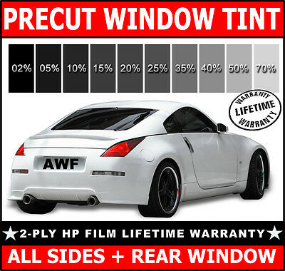 2ply HP All Sides + Rear PreCut Window Film Any Tint Shade for TOYOTA & SCION