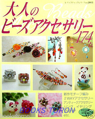 Beads Accessories for Lady 174 items /Japanese Beads Craft Pattern Book