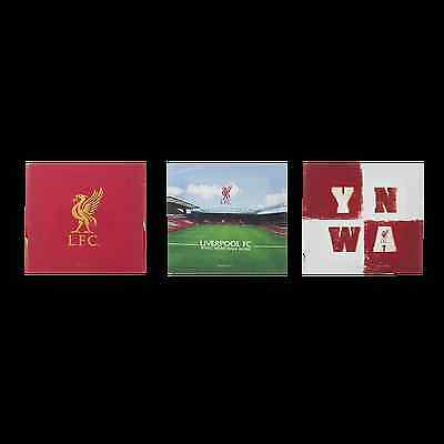 Liverpool FC  LFC 3 Pack Canvases Official