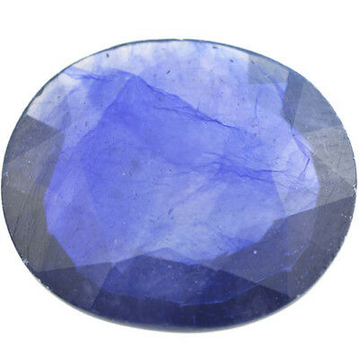 Gema de ZAFIRO AZUL NATURAL en TALLA OVAL de 15.66ct. 18x16x5mm.