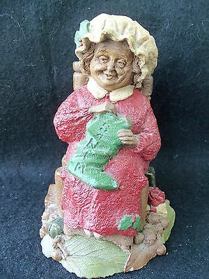 Vintage Mrs Claus Statue by Tom Clark!  1988!!  CUTE DETAILS!  HISTORY ON BOTTOM
