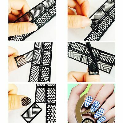 Ongle Nail Art Stamp Stamping Template Image Plaque Pochoir DIY Décor Manucure