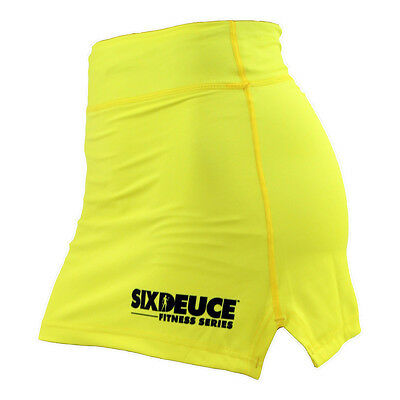 Six Deuce Fitness Gym Skirts yellow Original aus den USA