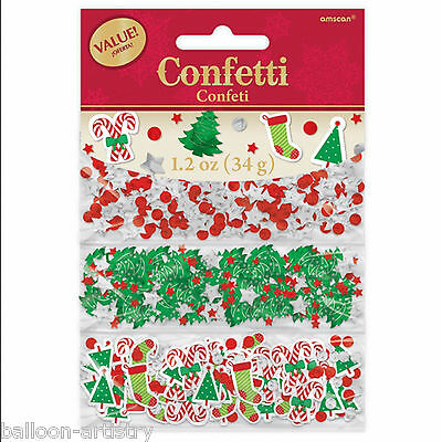 34g Christmas Party Candy Trees Stockings Confetti Sprinkles Mix Triple Pack