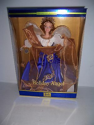 2000 Barbie Holiday Angel Barbie doll Collector Edition Mattel 28080 NRFB!!