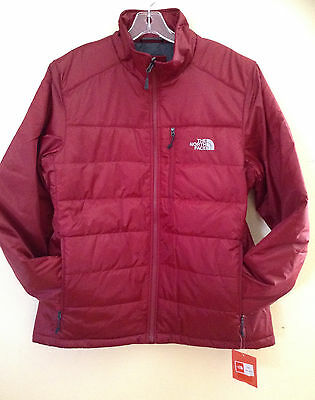 d93132e05 THE NORTH FACE TNF Biking Red Puffer Mens Brecon Large Jacket Coat ...
