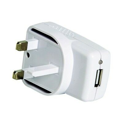 5V 2A USB AC-DC Mains Power Adapter Charger for iPhone iPad Mobile Phones UK