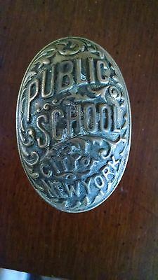 Nyc Board Of Education Brass Doorknobs