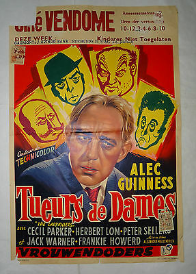 EALING/ALEC GUINESS/ THE LADYKILLERS//belgian poster