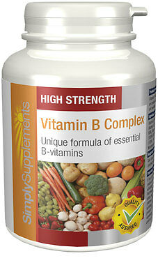 Simply Supplements Vitamin B Complex 120 Tablets (E196)