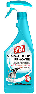 Simple Solution Stain and Odour Remover for Dogs - Trigger 750ml