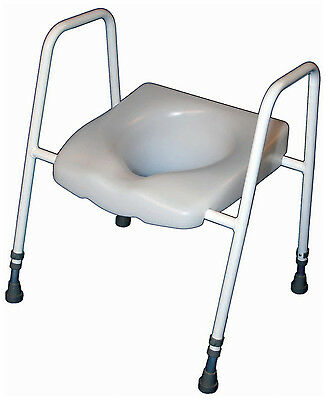 President Raised Toilet seat and Height Adjustable Frame