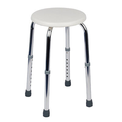 Viva Medi Round Shower Stool - Height Adjustable