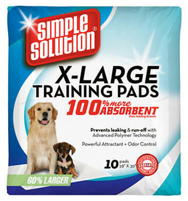 Simple Solution Extra Large Disposable Puppy Training Pads - (71 x 76cm) - Pack