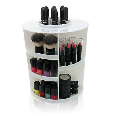 New! Roxanne Deluxe Spinning Makeup Organizer -Acrylic Rotating Cosmetic Display