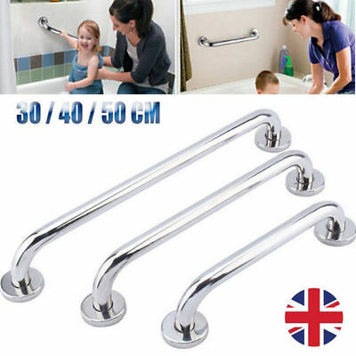 Stainless Steel Grab Bar Handle Aid Support Bathroom Shower Safety Mount Rail UK