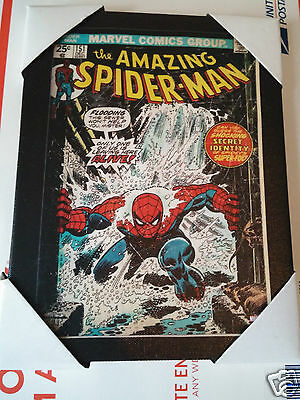 Marvel The Amazing Spiderman Comic Picture Frame By Artissimo