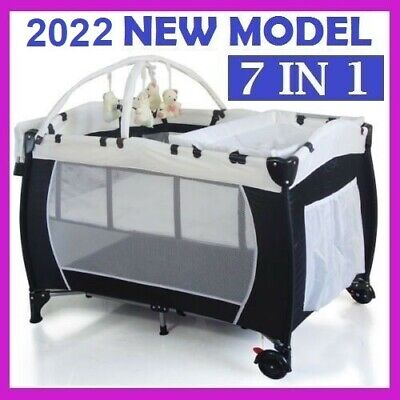 *new*  Baby Portable Travel Cot Bassinet Foldable Playpen Portacot