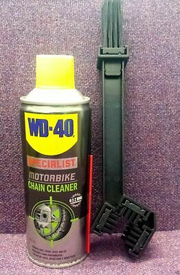 Wd-40 Specialist Motorbike Chain Cleaner & Degreaser & Brush Removes Dirt Dust
