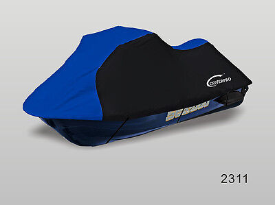 Black/Blue Sea-Doo SeaDoo GTX Di 2000-2002 2003 PWC Jet Ski Cover