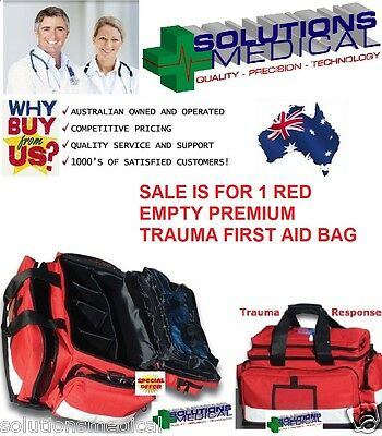 First Aid Professional Trauma Kit Bag Only Super Value Premium Item