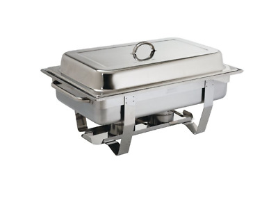 Chafer / Chafing Dish, Fuel Heated Warmer, Full GN 1/1 Food Pan, Stackable
