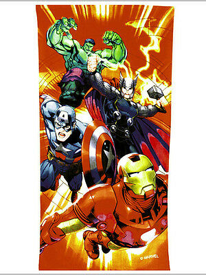 LA CAMERETTA Marvel Avengers Red Beach Towel