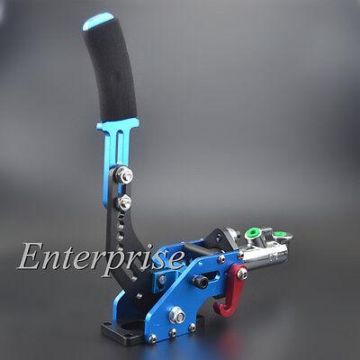 Blue Color Cool Hydraulic Drift E-Brake Racing Handbrake Lever Universal NEW