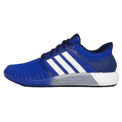 Adidas Solar Boost M Blue White Mens Running Shoes Sneakers Trainers D69871