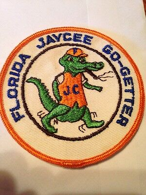 Florida Jaycee Go-Getter Patch