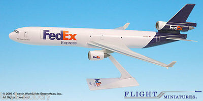 Flight Miniatures FedEx Federal Express MD-11 McDonnell Douglas 1:200 Scale New