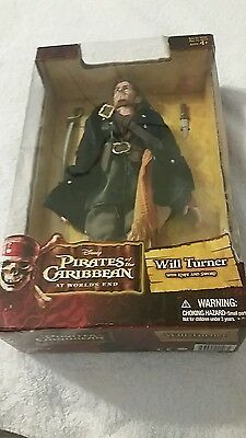 """DISNEY Pirates of the  Caribbean WILL TURNER At Worlds End 2007~12"""" Figure"""