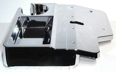 console top center cup holder replacement chrome plastic for Kenworth 1982-2001