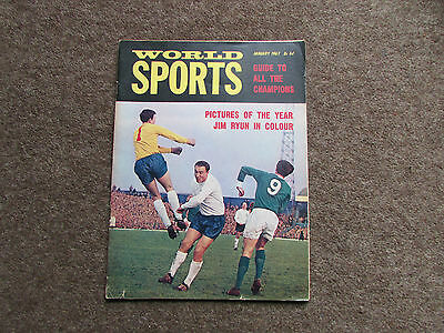 WORLD Sports Magazine covers all sports Jan 67 / 1967  SEE PICTURES FOR CONTENTS