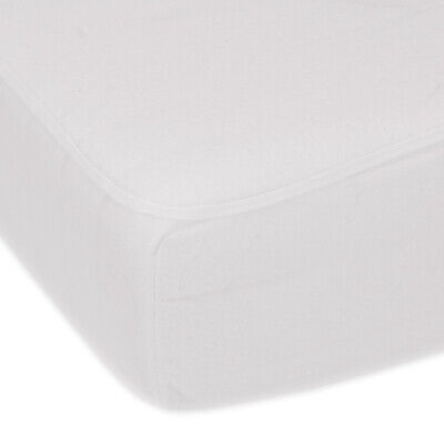 Super Soft Microfibre Waterproof Mattress Protector - Small Double - Fitted (120