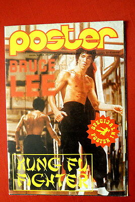 Bruce Lee Way Of The Dragon 42/1977 Rare 2 Sided Vintage Exyu Poster Magazine