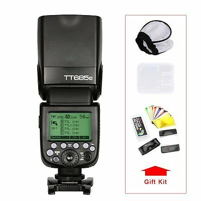 Godox TT685C 2.4G 1/8000s E-TTL GN60 Wireless Flash for Canon Rebel T3i T3 T4i