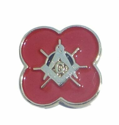 Masonic Poppy Lapel Pin – LR280