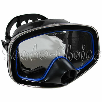 Scuba Diving Classic Free Dive One-Window Silicone Purged Mask
