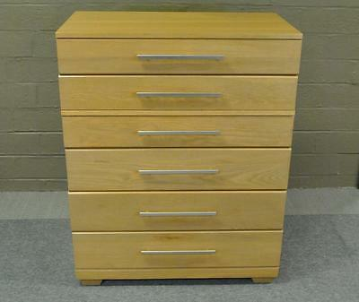 Mid Century Modern Six Drawer Chest Designed by Raymond Loewy for Mengel