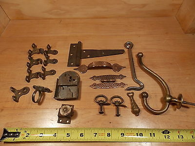 Vintage Antique Old Original Mixed hardware lot