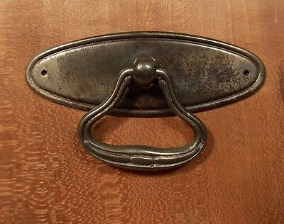 Antique metal drawer ring pull • CAD $12.06