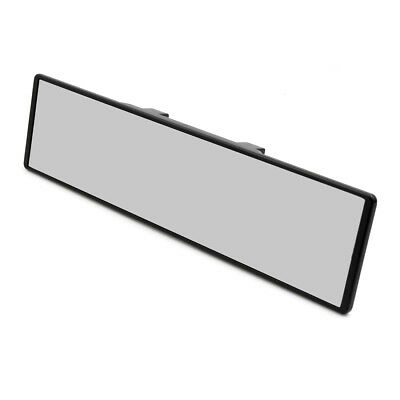 JDM 280mm Wide Curve Interior Clip On Rear View Mirror Universal 65mm 4 Car SUV