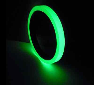 2.5cm x 3m Luminous Tape Self-adhesive Glow In The Dark Safety Stage Home Decor