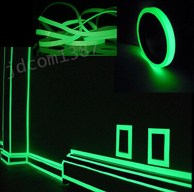 Luminous Photoluminescent Egress Tape Glow In The Dark Stage Safety Mark 25mmx3m