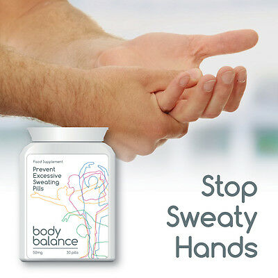 Body Balance Prevent Excessive Sweating Pills Stop Extreme Sweat Armpit Hand
