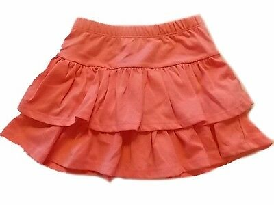 Gymboree NWT Girls Hop N Roll Tiered Pink Skirt Size 4 /& 7